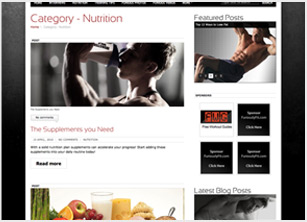 FuriouslyFit.com Screen 2